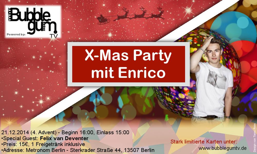 Enrico X-MAS Party